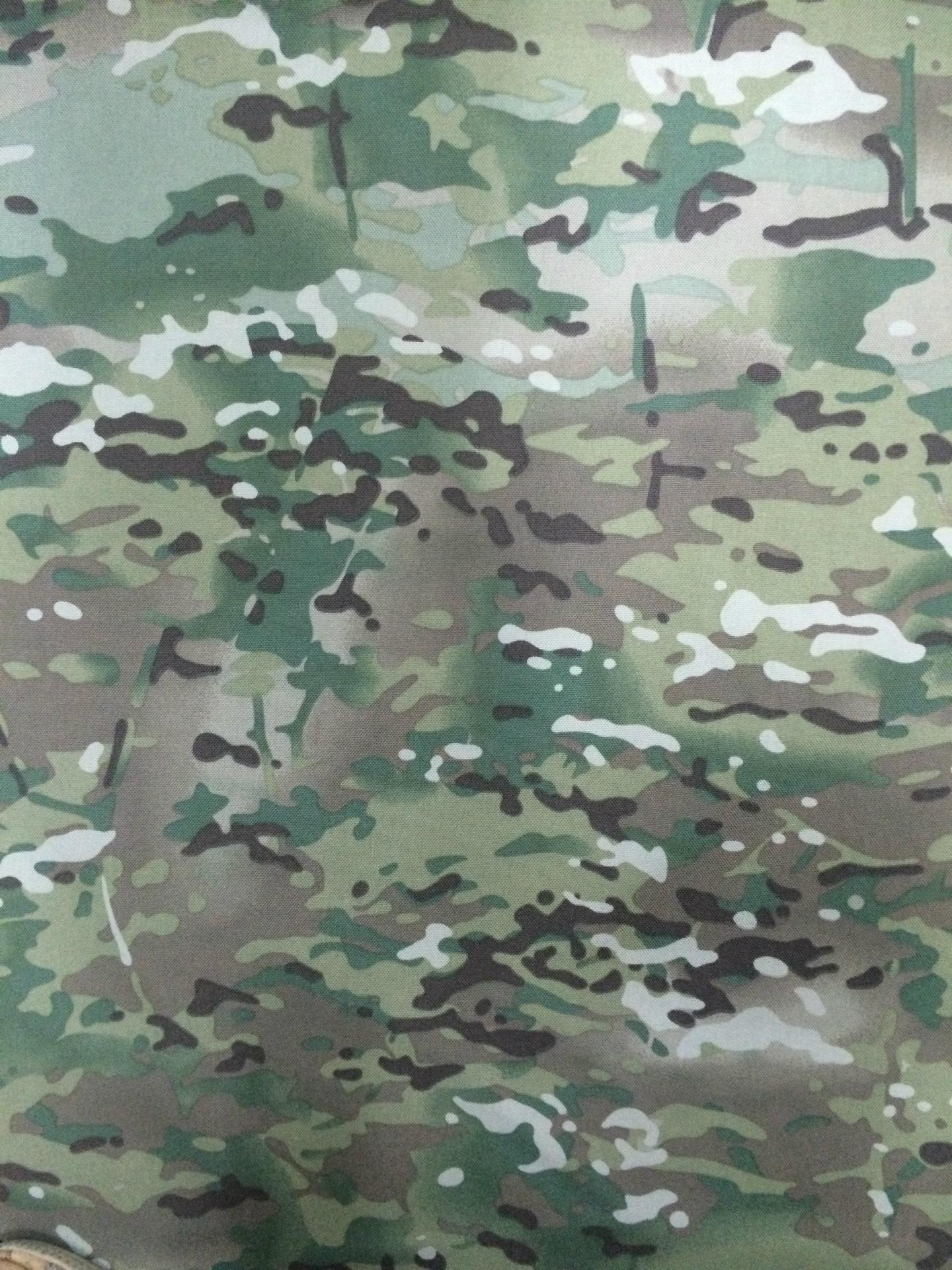 Nylon Cordura Fabric Multicam Military Camouflage Printing