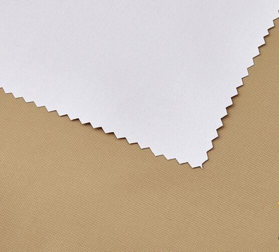 Polyester 150D Oxford Gewebe milchige Beschichtung
