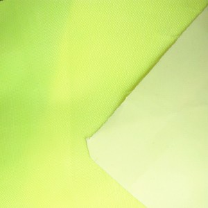 Polyester 150D Oxford fabric waterproof pu coating flame retardant for tent