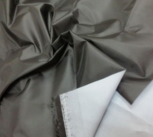 Polyester 210D Oxford fabric milky coating