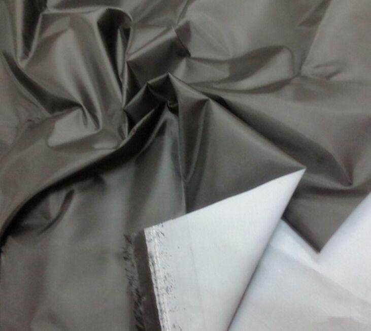 Polyester 210D Oxford Gewebe milchige Beschichtung