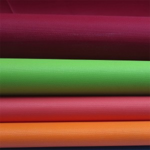 Polyester 210D Oxford fabric uly coating