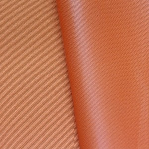 Polyester 300D Oxford fabric waterproof pu coating