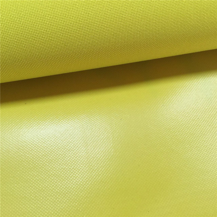 Polyester 600D Oxford fabric waterproof pvc coating