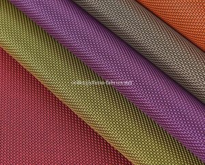 Polyester two tone Jacquard cross oxford fabric