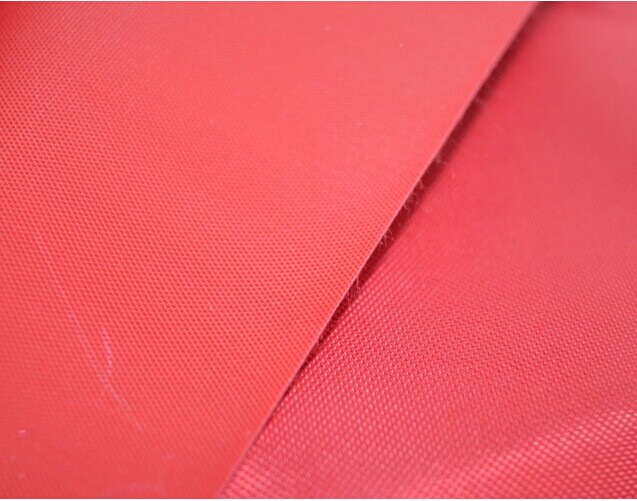 Polyester 150D Oxford fabric pvc backing