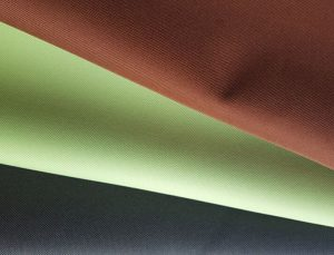 Polyester 600 Denier Solution Dyed Oxford Fabric Outdoor Use