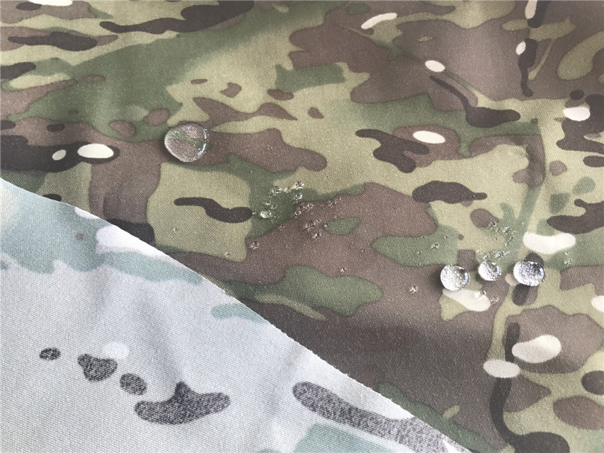 Nylon Cordura Gewebe Multicam Tarnung Printed