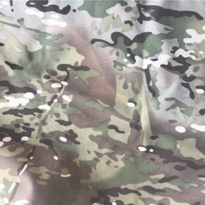 Nylon Cordura Fabric Multicam Camouflage Printed, Waterproof Pu Coating