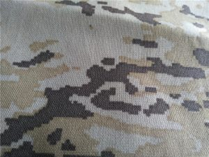 nylon cordura camuflagem do deserto tecido impresso revestimento pu