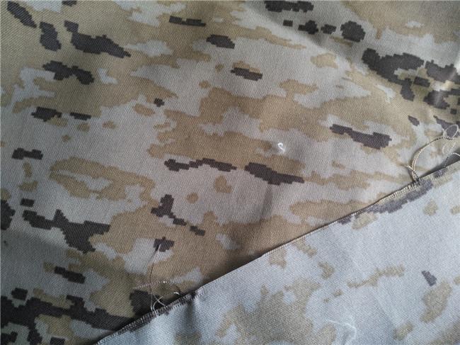 Tissu cordura nylon camouflage imprimé Desert